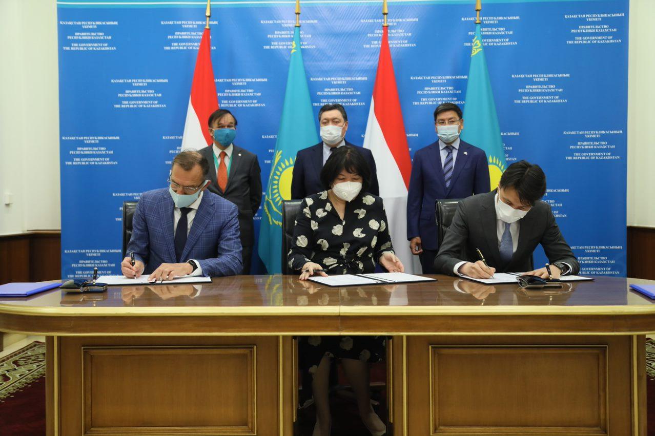 Kazakhstan signing